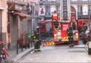 Incendie rue Myrha à Paris : les flammes filmées par les pompiers de Paris