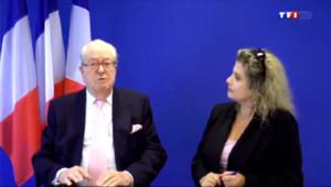 Le 20 heures du 9 juin 2014 : La famille Le Pen en pleine crise apr�un nouveau d�page de Jean-Marie - 990.6720364685059