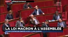 Loi Macron présentée à l'Assemblée : ce qui ressort de ce grand oral