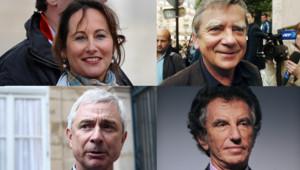 Ségolène Royal, Claude Bartolone, Jean Glavany et Jack Lang.