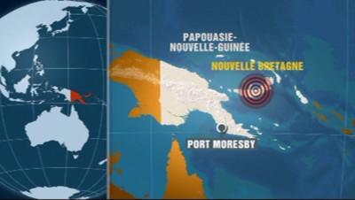 Seisme Papouasie-Nouvelle Guinée