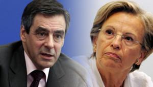 François Fillon et Michèle Alliot-Marie