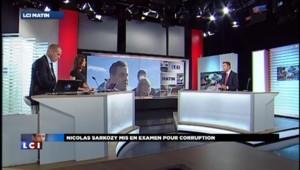 Nicolas Sarkozy mis en examen va préparer sa défense
