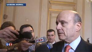 """Sarkozy : Juppé réfute toute """"barre à droite"""""""