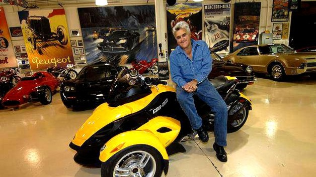 Jay Leno et son Can-Am Spyder