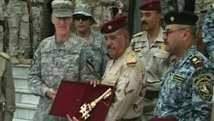 Les usa rendent les clés aux irakiens