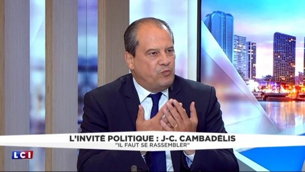 """Menace terroriste : """"Il y en aura toujours qui passeront au travers"""", selon Cambadélis"""