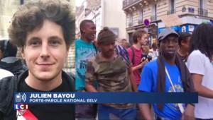 """Migrants évacués à Paris : """"J'en veux au gouvernement"""", déclare le porte-parole d'EELV"""