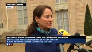 """Ségolène Royal : """"Il faut repenser le projet de barrage de Sivens"""""""