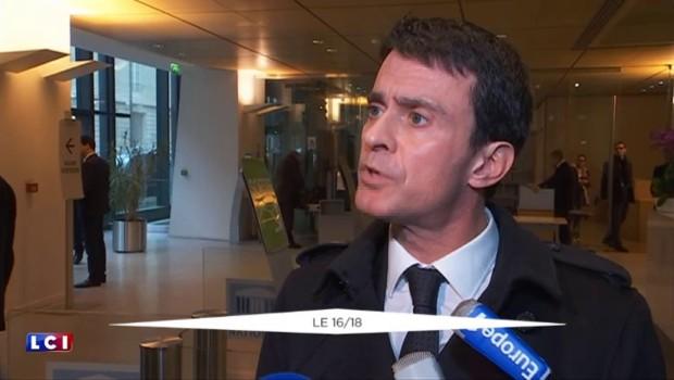 """Valls : """"Face au terrorisme, il faut prendre les décisions qui s'imposent"""""""