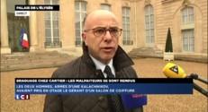 Braquage de la bijouterie Cartier : Cazeneuve se félicite du travail de la police
