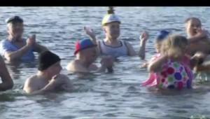 Ces Européens qui se jettent à l'eau pour célébrer 2015