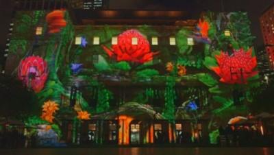 Le festival Vivid a débuté vendredi soir à Sydney.