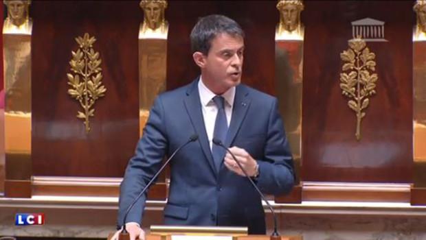 Manuel Valls a fustigé ce jeudi les députés socialistes frondeurs, qui ont tenté de déposer une motion de censure contre son gouvernement.