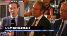 """Remaniement : Rebsamen, """"ministre à durée indéterminée"""", participe bien au Conseil des ministres"""