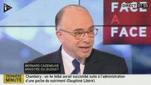 Bernard Cazeneuve sur iTélé le 15/01/2014
