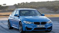 BMW M3, berline sportive au moteur 3,0 litres 6 cylindres 430 ch lancée en 2014