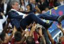 Fernando Santos, le sélectionneur du Portugal sacré champion d'Europe.