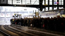 Grève dans les transports : trains bondés et voyageurs passablement échaudés