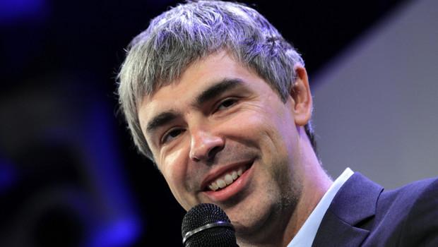 Larry Page, directeur général de Google