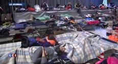 Neige : 15.000 naufragés de la route ont dormi dans des centres d'hébergement