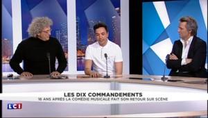"""Pourquoi, selon le réalisateur, Pascal Obispo est contre le retour des """"10 Commandements"""""""