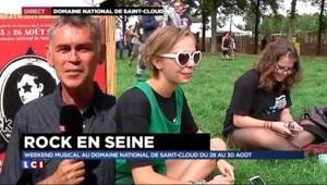"""Rock en Seine : """"Ce qui domine c'est l'excitation"""""""