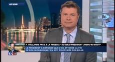 """Conférence de Hollande : """"La France a perdu deux heures"""" estime Philippot"""