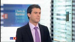 LCI - Manuel Valls est l'invité politique de Christophe Barbier