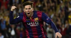 Lionel Messi, auteur d'un doublé face au Bayern en demi-finale aller de la Ligue des champions, le 6 mai 2015 à Camp Nou, à Barcelone.