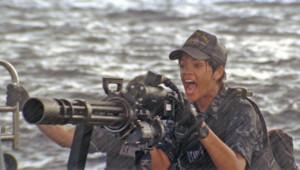 Rihanna dans le film Battleship de Peter Berg