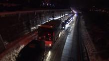 routes bloquées par la neige en Savoie