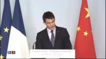 """Shanghai : en chinois, Manuel Valls souhaite """"bienvenue en France"""" aux investisseurs"""