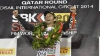 Le Français Sylvain Guintoli est sacré champion du monde Superbike 2014.