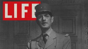 TF1-LCI/Life - De Gaulle en couverture de Life en 1944 (capture écran Internet)
