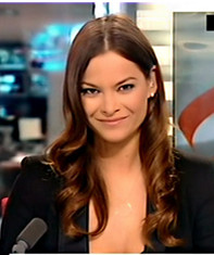 Virginie Chomicki, journaliste à la rédaction de LCI.