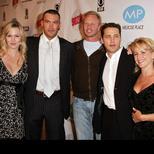 Beverly Hills : Jennie Garth, Jason Priestley, Tori Spelling, Brian Austin Green, Ian Ziering et Gabrielle Carteris