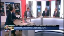 LCI Soir: Débat Pargneaux (PS) - Chauprade (FN) sur la conférence de presse d'Hollande