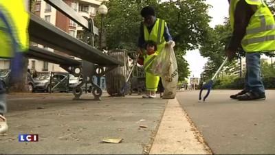 """Opération """"ménage de printemps"""" dans les rues de Paris"""