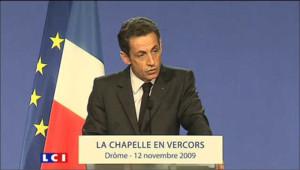 """Sarkozy : """"Devenir français, c'est adhérer à une civilisation"""""""
