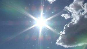soleil nuage ciel chaleur canicule température