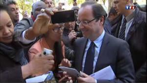 La matinée marathon de François Hollande