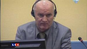 Ratko Mladic, le 3 juin 2011 devant le TPIY.