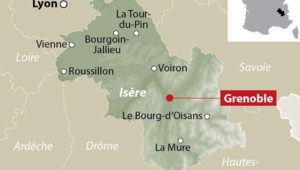 Carte de localisation Grenoble
