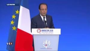 """Hollande : """"Permettre un allègement du coût du travail"""" avec la hausse de la TVA"""