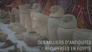 La police égyptienne a annoncé avoir démantelé un large trafic d'antiquités, le mercredi 5 février.