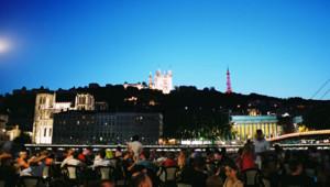 Lyon ville cathédrale saint-jean rhône