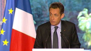 """Pour Sarkozy, """"cette table ronde est un succès""""/TF1"""