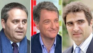 Xavier Bertrand, Hervé Gaymard et Christian Jacob.