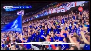 Euro : le commentateur fou de la TV islandaise a encore frappé